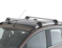 Barres de toit transversales Argent/Noir