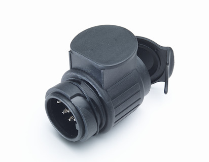 Adapter Plug for Tow Bar E-Kit 13 to 7 pin connector (integrated socket)