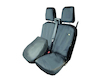HDD* Seat Cover double passenger seat, black
