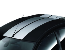 Kit strisce tettuccio GT bianco