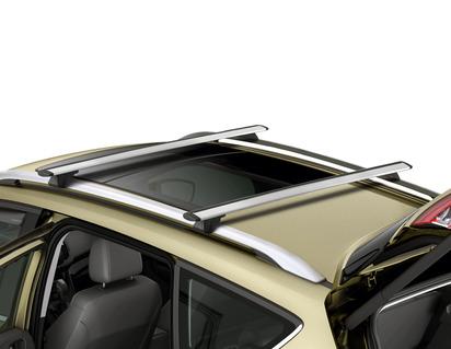 Barres transversales de galerie de toit