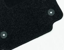 Carpet Floor Mats front, black