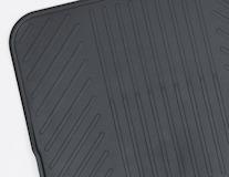 Gumové rohože zadní rohož pro 3. řadu v černé barvě