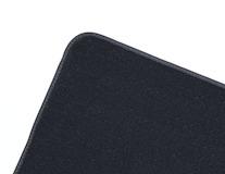 Podlahové koberce, standardní zadní rohož jednodílná v černé barvě