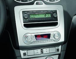 Adaptersats för DIN-radio Asphalt Grey