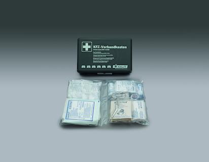 Kalff* Førstehjælpssæt sort boks