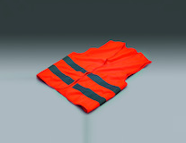Kalff* Warning Vest orange