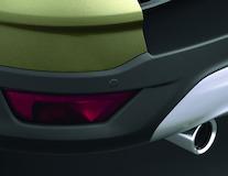 Xvision (SCC)* Parkovacie senzory zadné, 4ks matné čierne