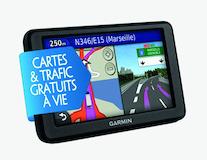 Garmin®* Portable Navigation System Dezl 560LMT Cartes Gratuites et Info Trafic à Vie