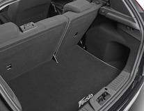Covoraş de protecţie portbagaj  negru, cu logo-ul Fiesta