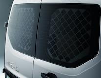 Rete protezione finestrino posteriore per porte di carico