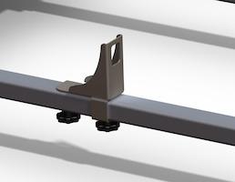Q-Top® (Q-Tech)* Conjunto Batente da Escada para grade de carga de tejadilho, universal