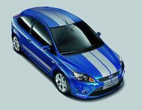 GT tailgate stripe kit Performance Blue