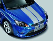 GT-Stripingset voor motorkap, Performance Blue