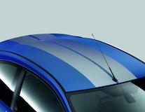 GT roof stripe kit Performance Blue