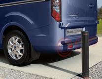 Vodafone* Parkkitutkajärjestelmä taakse, 4 mattamustaa tunnistinta