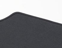 Rohože, prémium velúrové zadné, čierne