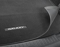 Covoraş de protecţie portbagaj  negru, cu logo-ul Galaxy