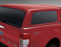 Hard Top  Aeroklas* cu geamuri laterale, Copper Red
