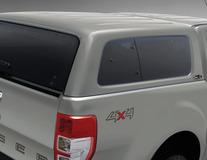 Hard Top  Aeroklas* cu geamuri laterale, Oyster Silver Metallic