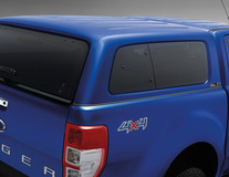 Aeroklas* Hardtop avec vitres latérales, Bleu Performance
