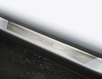 Scuff Plates front, with Kuga logo