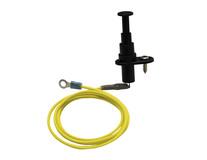 K&K* Interruttore di sicurezza del cofano Per dispositivi repellenti anti martore M2700, M4700 e M5700N