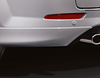 Lower Bumper Side Corners for rear bumper