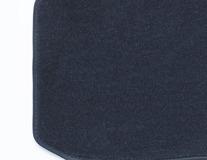 Rohože, prémium velúrové zadné modré