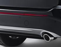 Xvision (SCC)* Aide au stationnement arrière, quatre capteurs noir mat