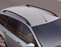 Barres de toit longitudinales noir