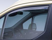 ClimAir®* Defletor de Vento para vidros das portas dianteiras, em preto