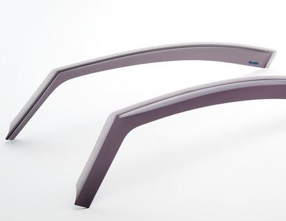 Deflector de aer geam lateral ClimAir®* pentru geamurile uşilor faţă, negru
