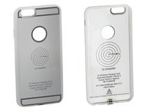 ACV* Custodia con funzione di ricarica wirless integrata per IPhone® 6, argento