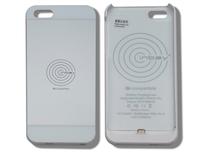 ACV* Custodia con funzione di ricarica wirless integrata per IPhone® 5/5S, bianco