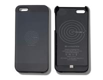 ACV* Custodia con funzione di ricarica wirless integrata per IPhone® 5/5S, nero