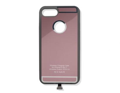 ACV* Qi-Ladehülle für iPhone® 6/6S/7, roségoldfarben