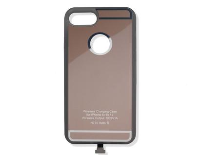 ACV* Qi-Ladehülle für iPhone® 6/6S/7, goldfarben