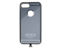 ACV* Custodia con funzione di ricarica wirless integrata per IPhone® 6/6S/7, argento