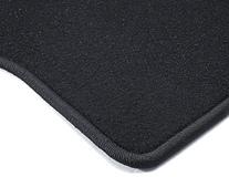 Carpet Floor Mats rear, black, for 3rd seat row