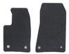 Tappetini, moquette standard nero, anteriore