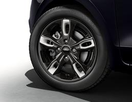 Alloy Wheel Inserts white