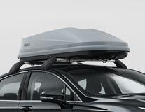 Thule®* Dachbox Touring M (200), Titan Aeroskin, mit Dual-Side-Funktion