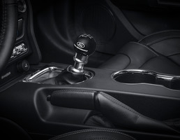 Performance Shifter Kit including black shift knob with Ford Performance logo