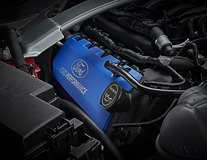 Performance Zündspulenabdeckung mit lasergraviertem Ford Performance Logo
