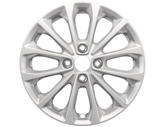 "Lichtmetalen velg 16"" 12-spaaks design, sparkle silver"