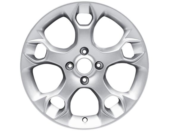 """Lichtmetalen velg 15"""" 5-spaaks Y-design, zilver"""