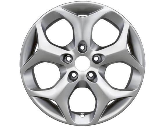 """Lichtmetalen velg 16"""" 5-spaaks Y-design, zilver"""