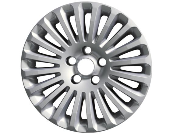 """Lichtmetalen velg 16"""" 20-spaaks design, zilver"""