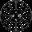 """Jantă din aliaj 16""""  design cu 12 spiţe, Panther Black"""